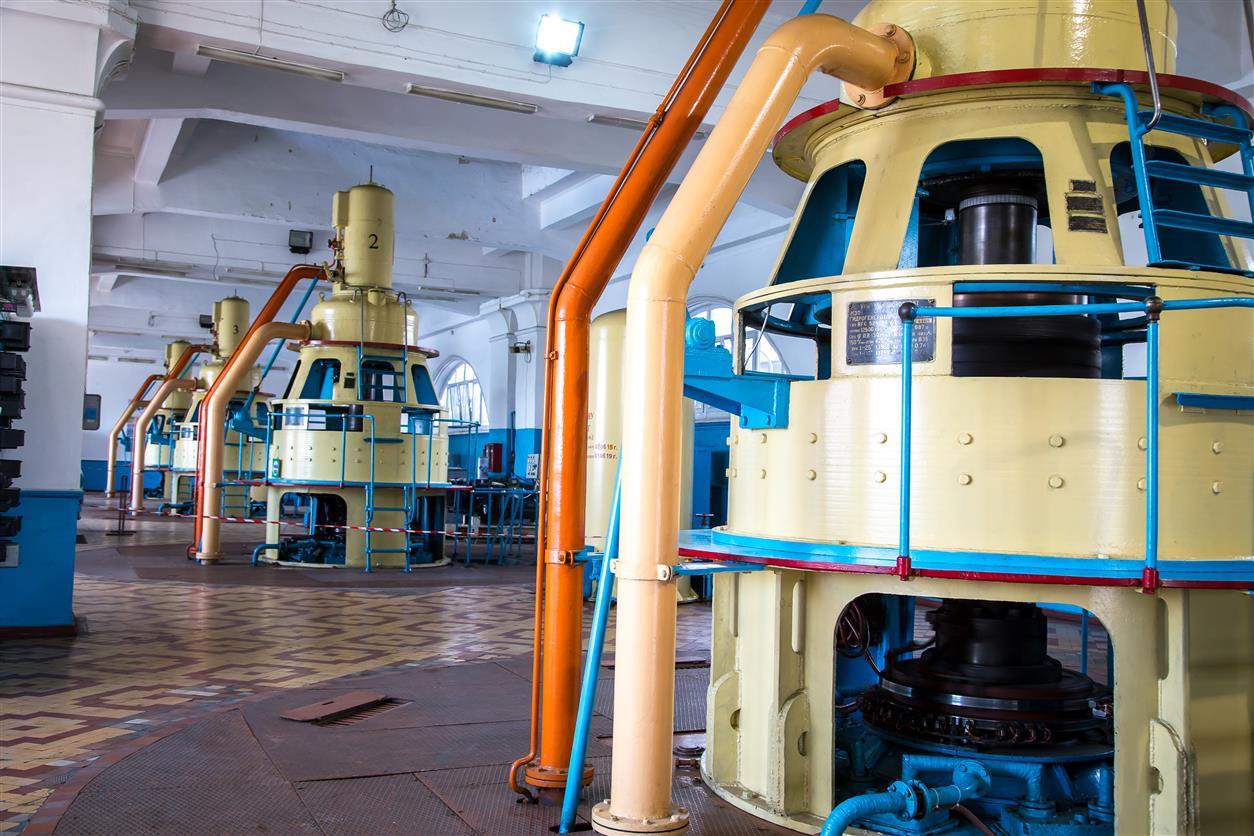 Гидроэлектростанция в Приднестровье